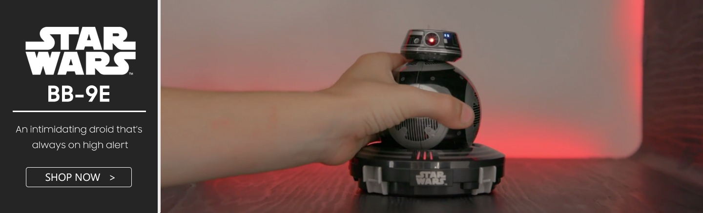 Star Wars BB-9E Sphero PB Tech