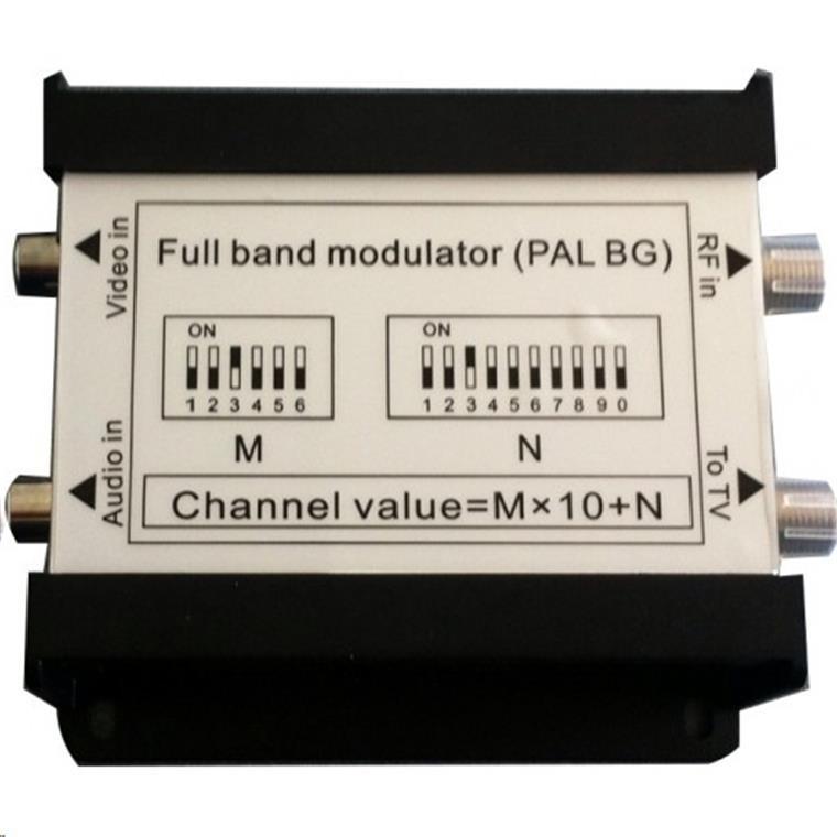 Starview Mono RF Modulator Channels E02 69 4825MHz