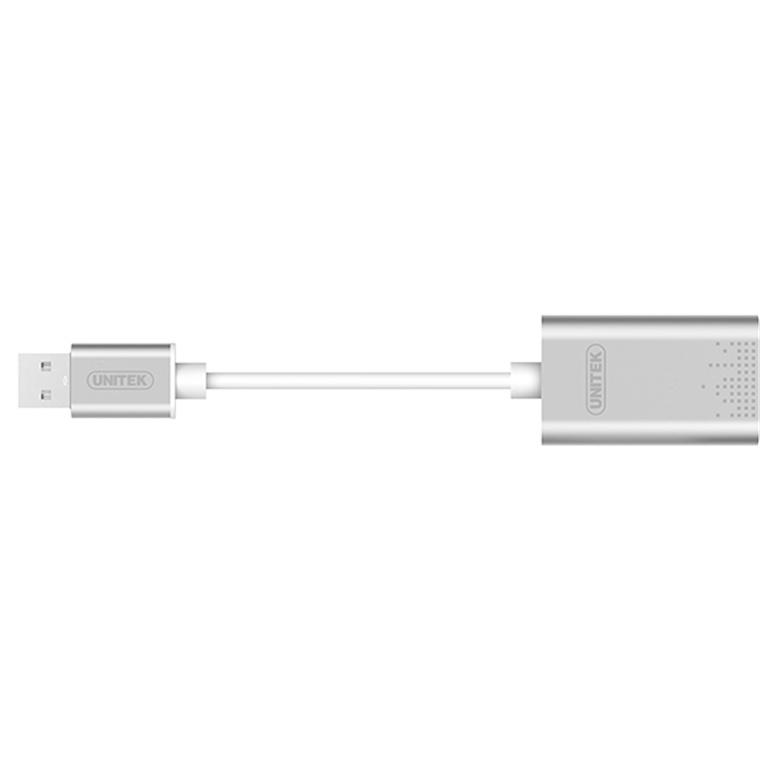 Buy the Unitek Y-247A USB To Stereo Audio Converter  USB 2 0