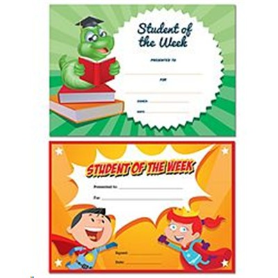 buy the avery certificates student of the week 36 pack 69644