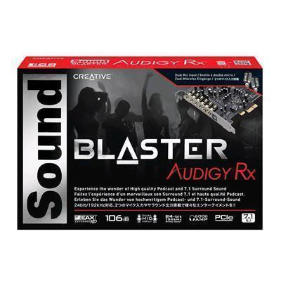 Buy the Creative Sound Blaster Audigy PCIe RX 7 1 Sound Card with