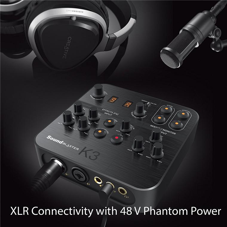 Buy the Creative Sound Blaster K3+ USB Powered 2 Channel Digital