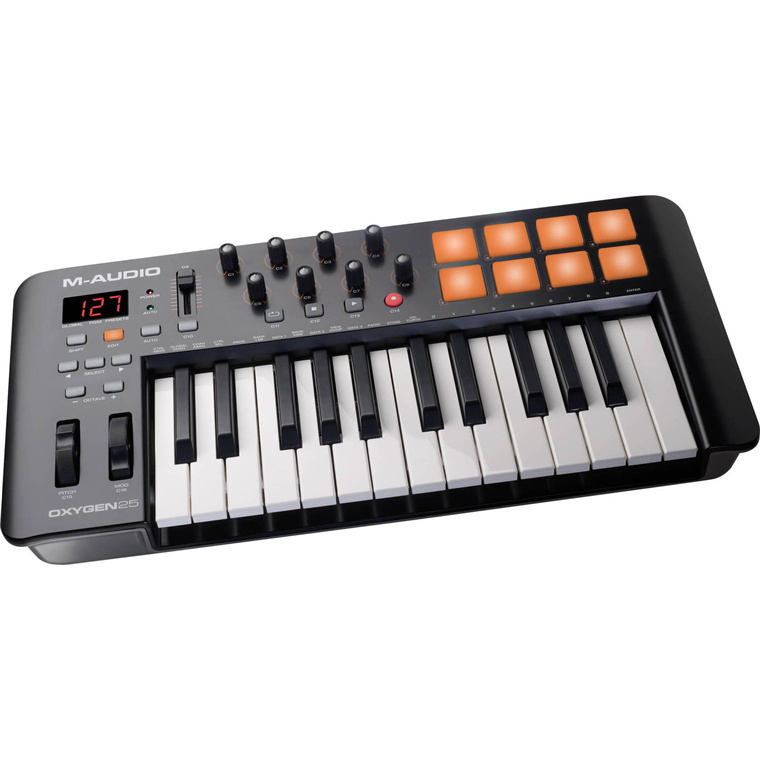 Buy the M-Audio Oxygen 25 IV - USB MIDI Keyboard Controller