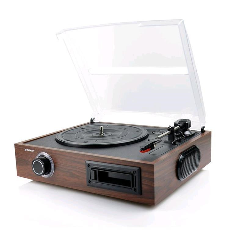 Buy the mbeat USB Turntable and Cassette to Digital Recorder 2-in-1