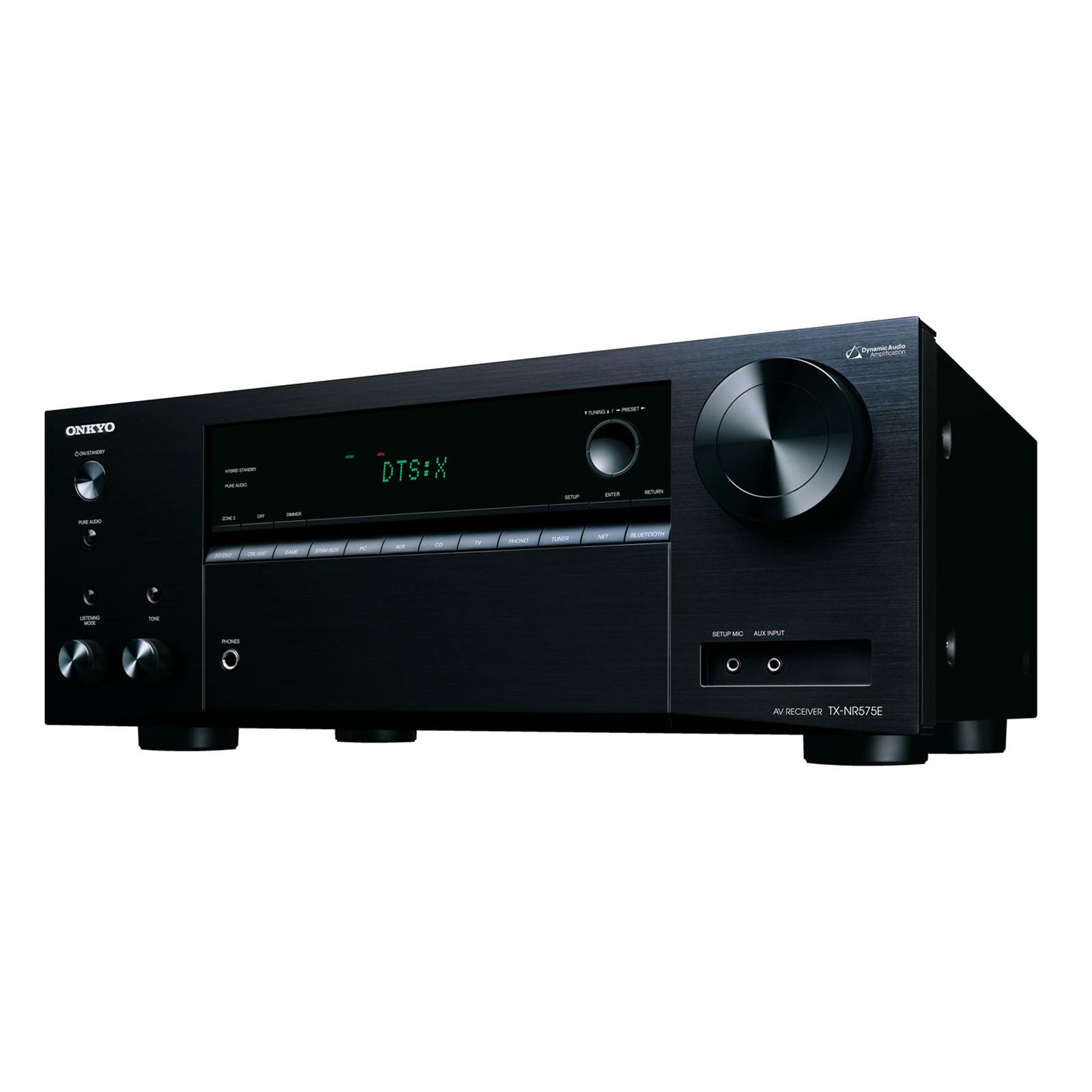Buy the Onkyo TX-NR575E 7 2 Channel AV Receiver 2 Zone