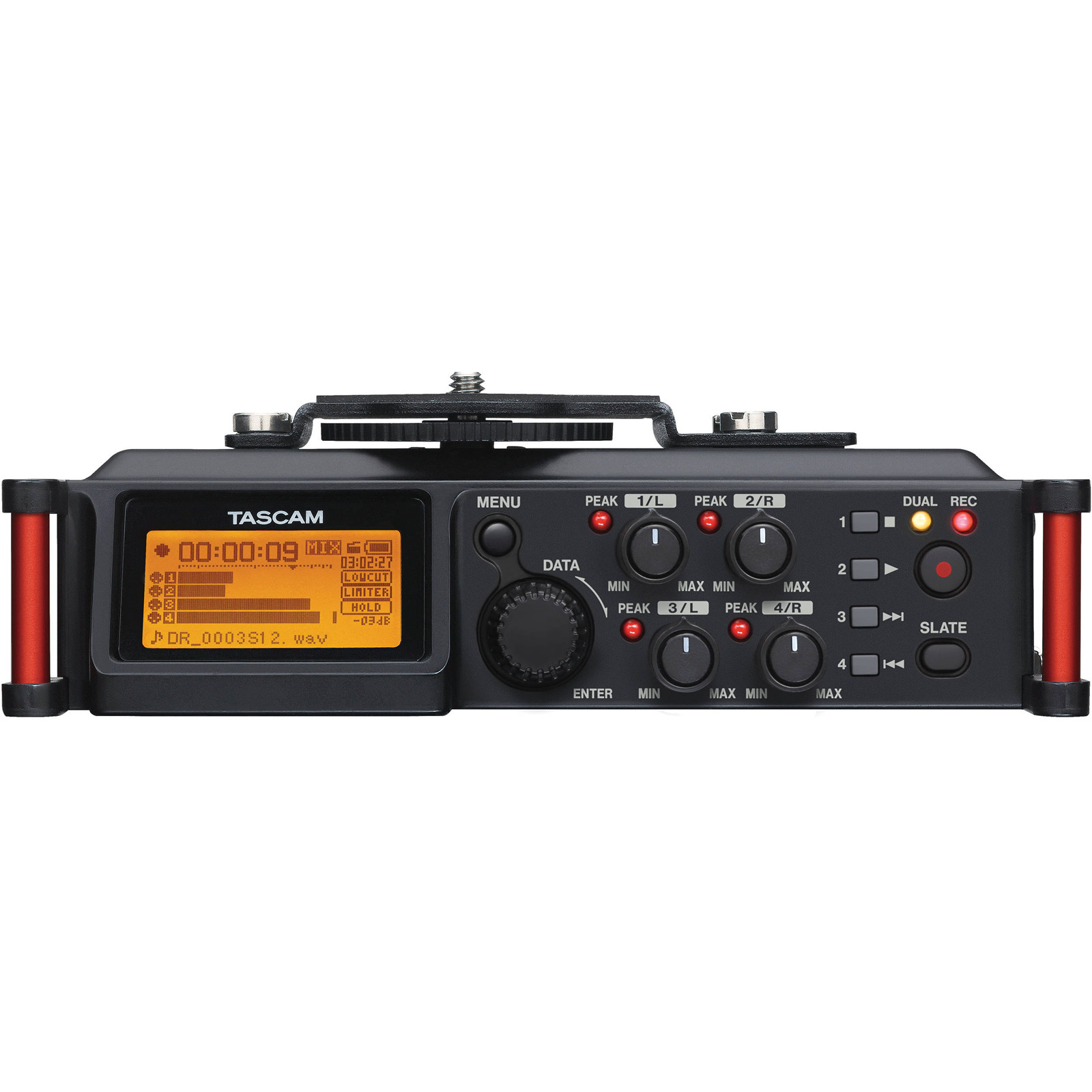 Buy the TASCAM DR-70D 4-Channel Audio Recording Device for