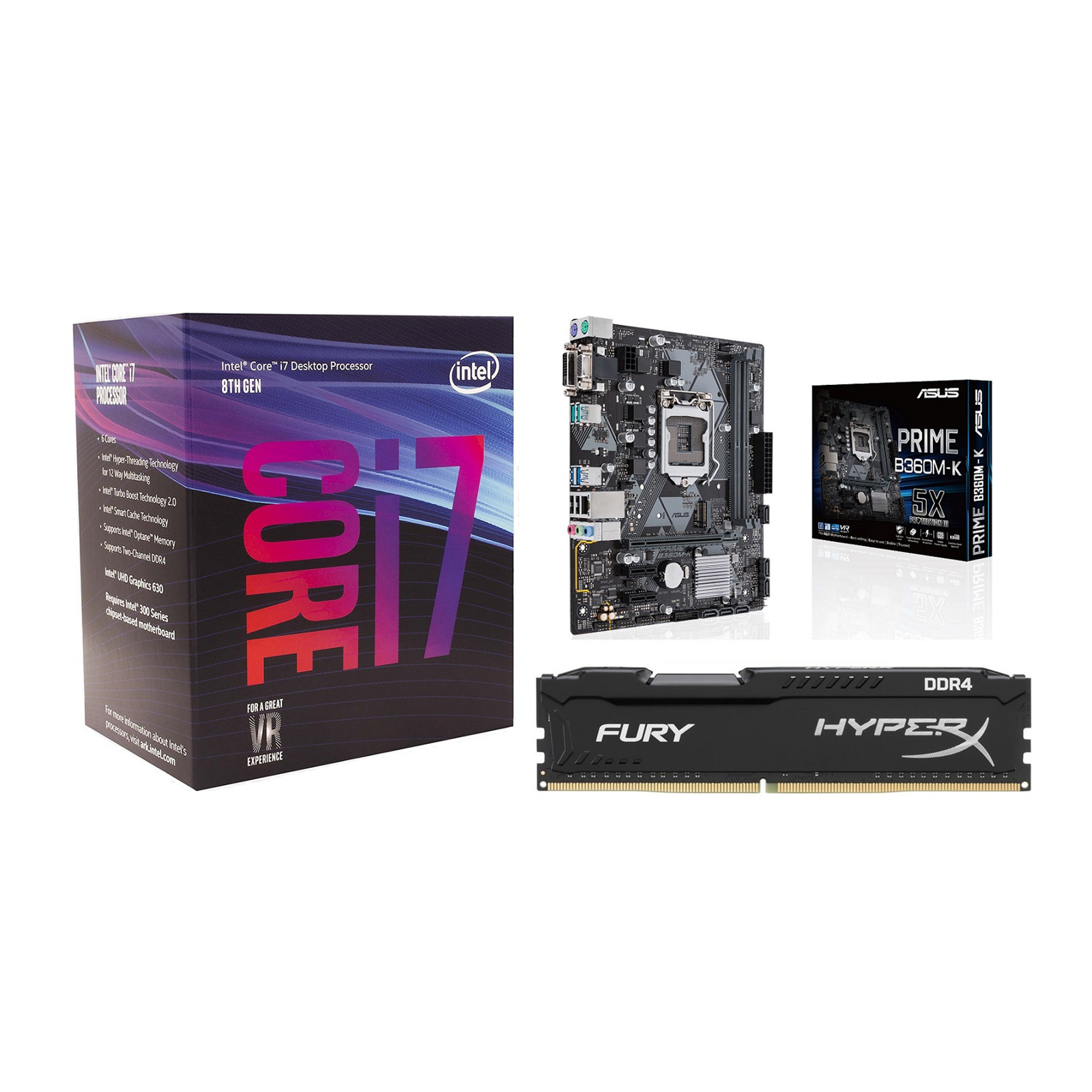 Buy the PB Upgrade Kits CPU, RAM & Motherboard 11002 Intel