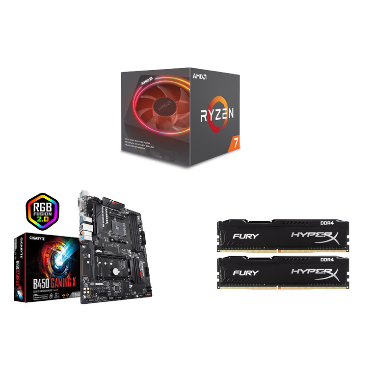 Buy the PB Upgrade Kits CPU, RAM & Motherboard 11008C AMD Ryzen 7