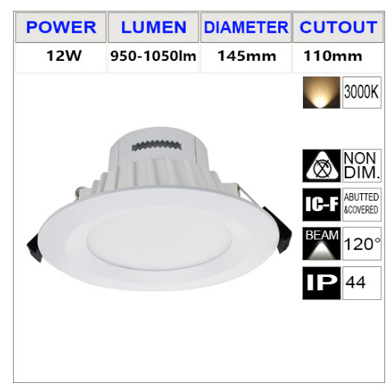 Buy The Argos Arg12wdsm41 3k Warm White Led Smd Un Vented Downlight