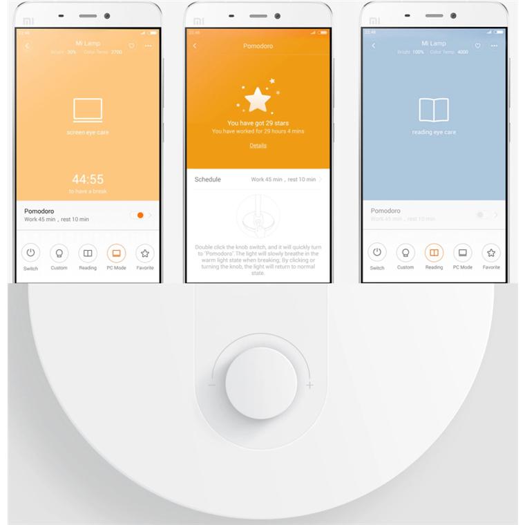 Buy the Xiaomi Mi Home Smart LED Desk Lamp Flicker-free