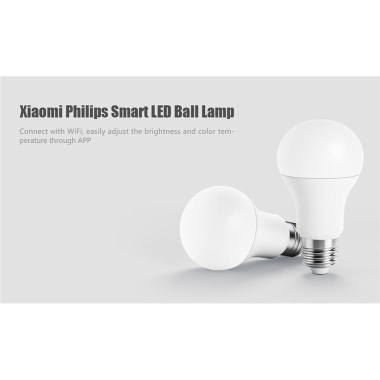 Buy the Xiaomi Philips Made WiFi LED White Smart Light Bulb