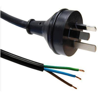 Super Buy The Dynamix 4M 3 Core 1Mm Bare Wire To 3 Pin Power Plug 10Amp Wiring Cloud Hisonuggs Outletorg