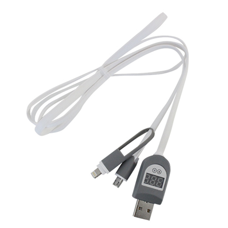 The 2in1 Usb To Microusb Or Iphone Lightning Cable With