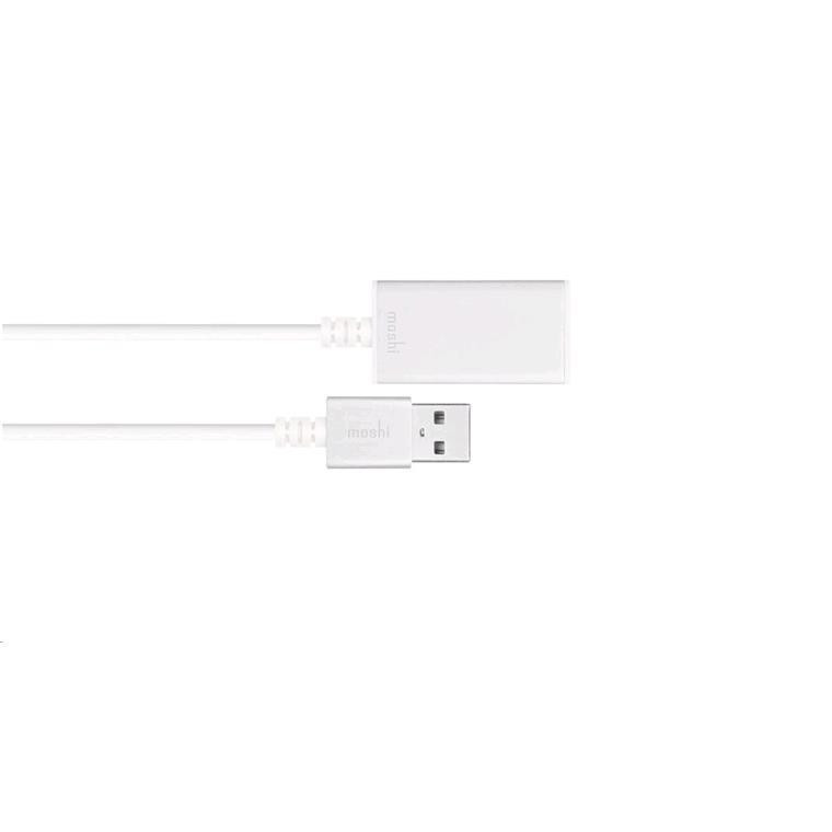 Buy The Moshi Active Usb30 Extension Cable White 99mo023125