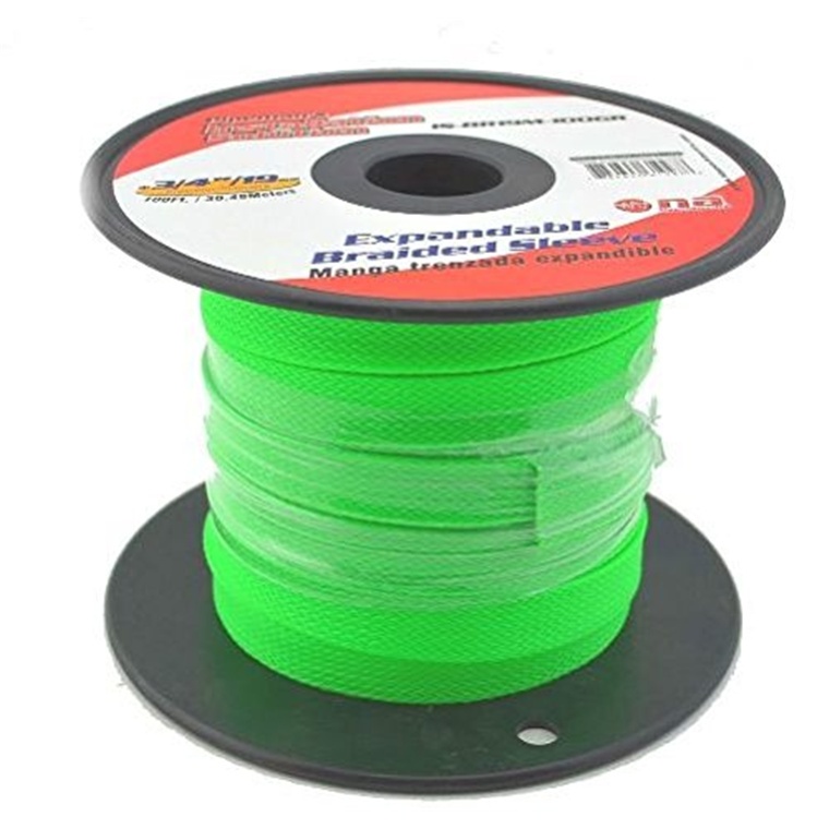 buy the green braided expandable flex sleeve wiring harness loom green braided expandable flex sleeve wiring harness loom flexible wire cover diameter 10mm