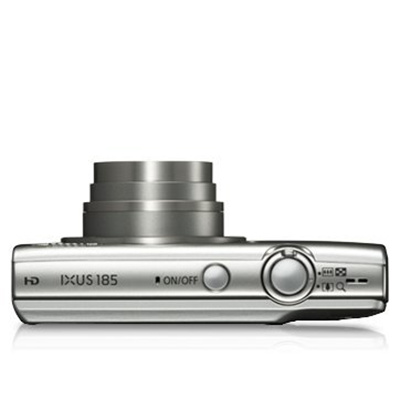 Buy The Canon Ixus 185 Digital Camera Silver 8x Optical Zoom With 20 0mp Ixus185s Online Pbtech Co Nz