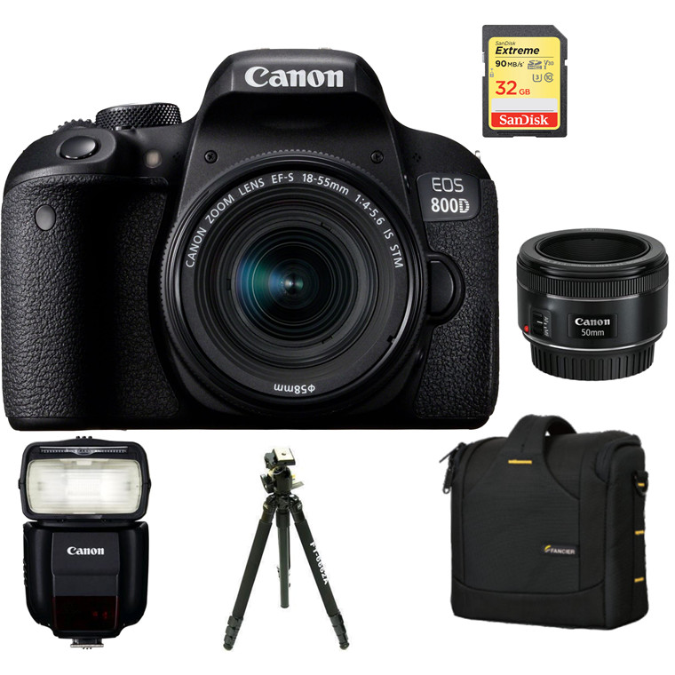 Buy the Canon DSLR Entry Portrait Kit with EOS 800D - Entry