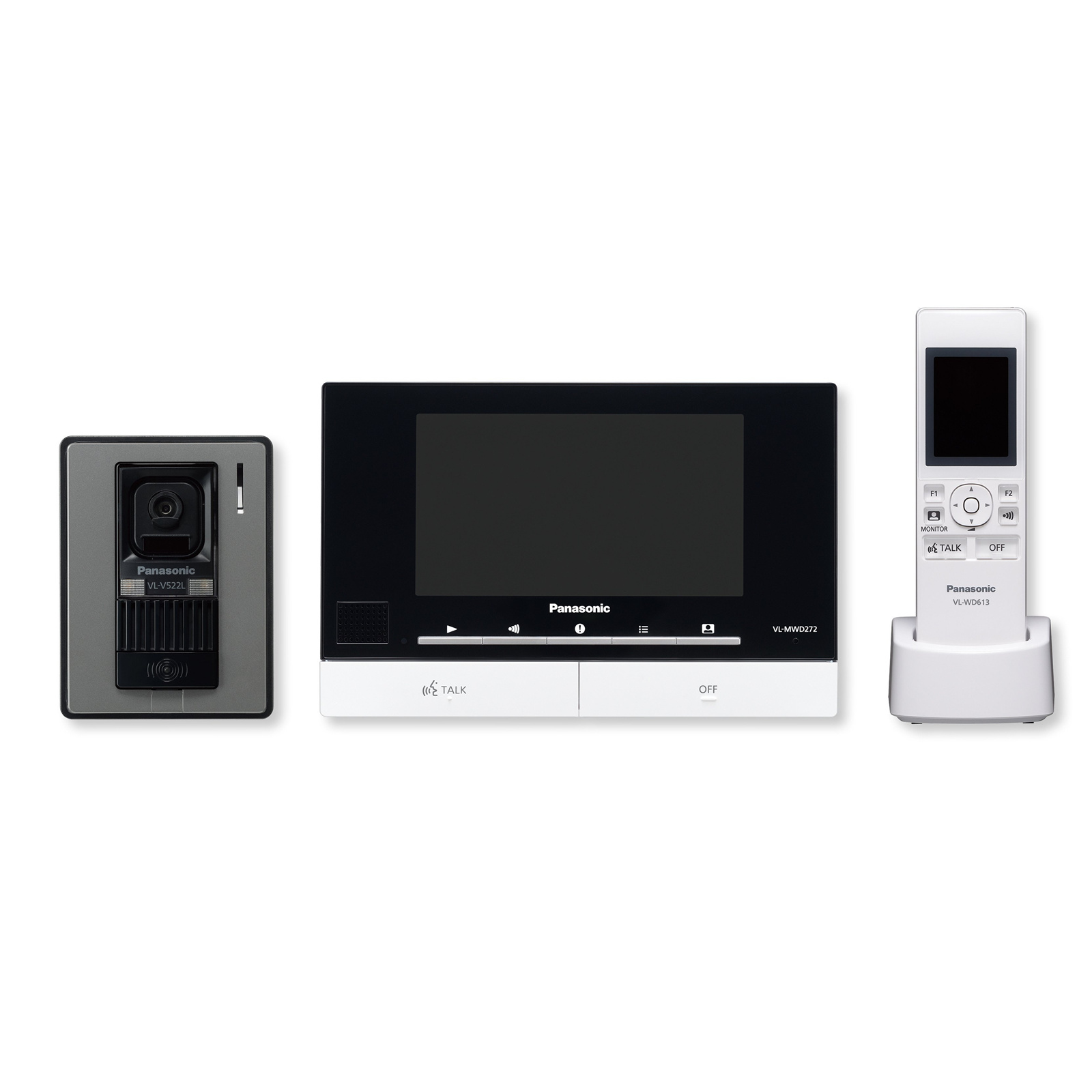 Buy The Panasonic Vl Swd272 Wireless Video Intercom System Dect