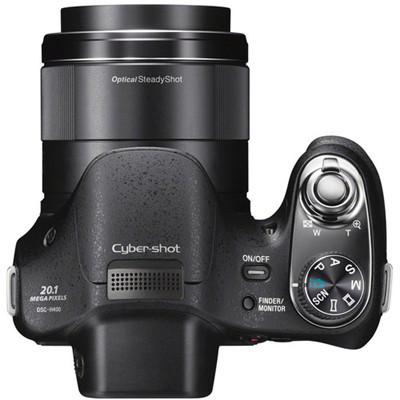 Sony DSC-H400 Digital Camera (20.1MP, 63x Optical Zoom) 3 inch LCD, 24.5-1550mm Equiv. 720p HD Movie.