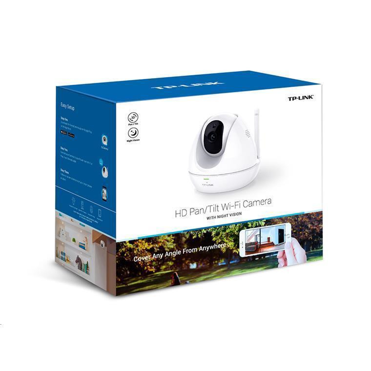 Buy the TP-Link NC450 HD Pan/Tilt Wi-Fi Camera with Night Vision 720p  Motion &    ( NC450 ) online