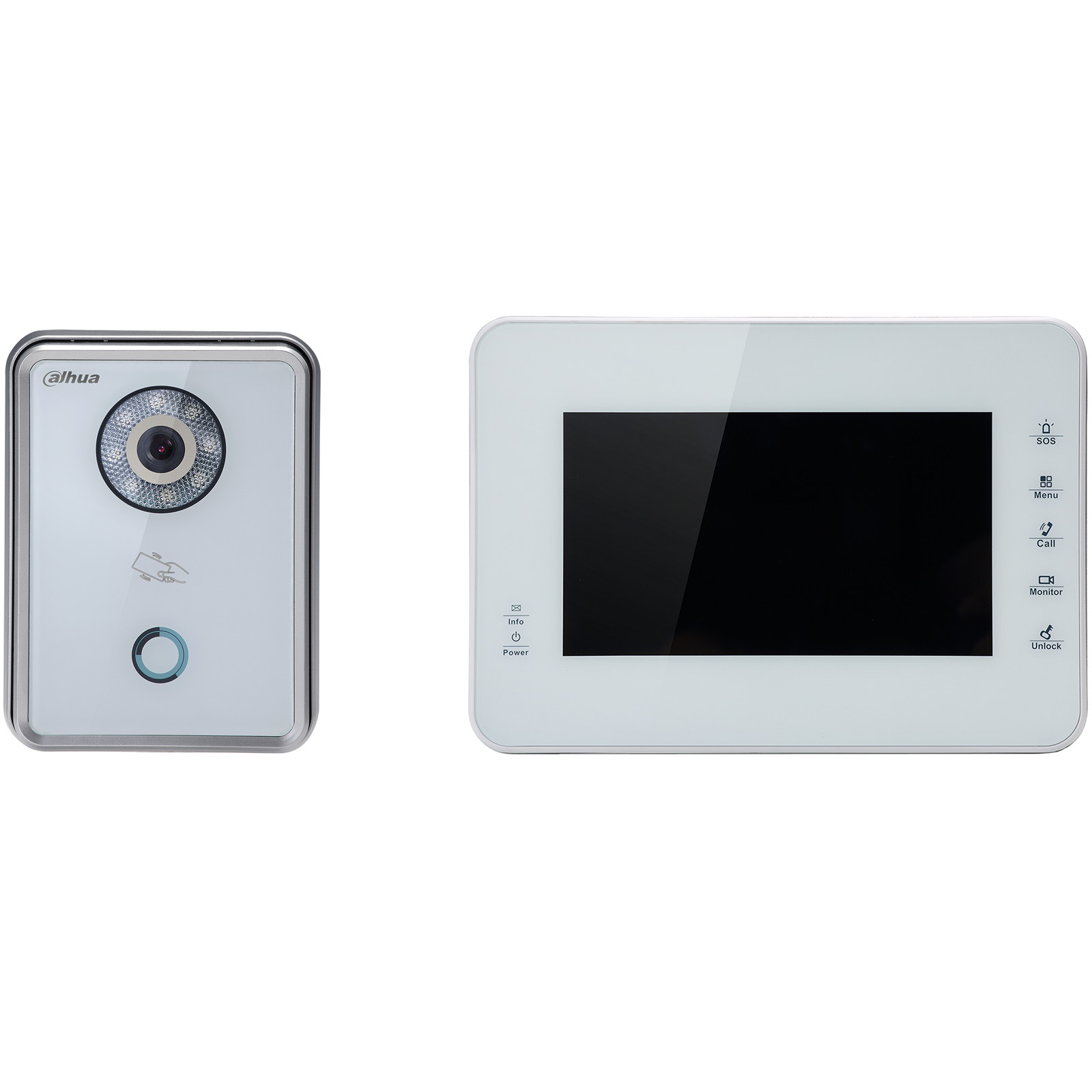 Buy the Dahua VTO6210BW + VTH1560BW Wired IP Video Intercom System