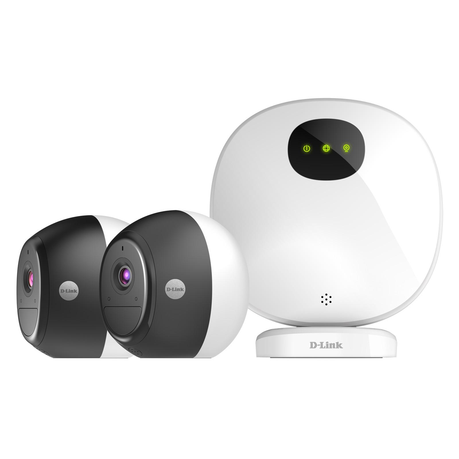 Buy the D-Link OMNA DCS-2802KT Indoor / Outdoor Wire-Free Camera Kit,  1080p,    ( DCS-2802KT ) online
