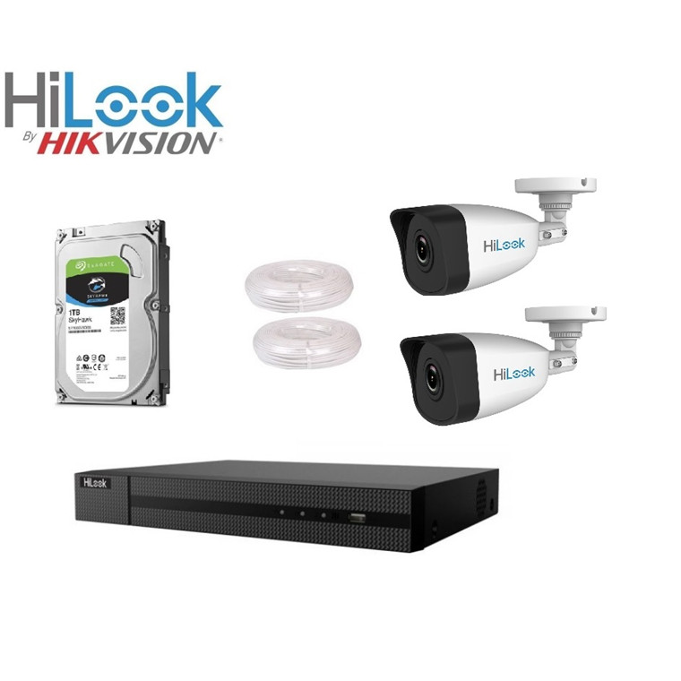 Buy The Hilook 2mp 4 Channel Nvr Surveillance System With