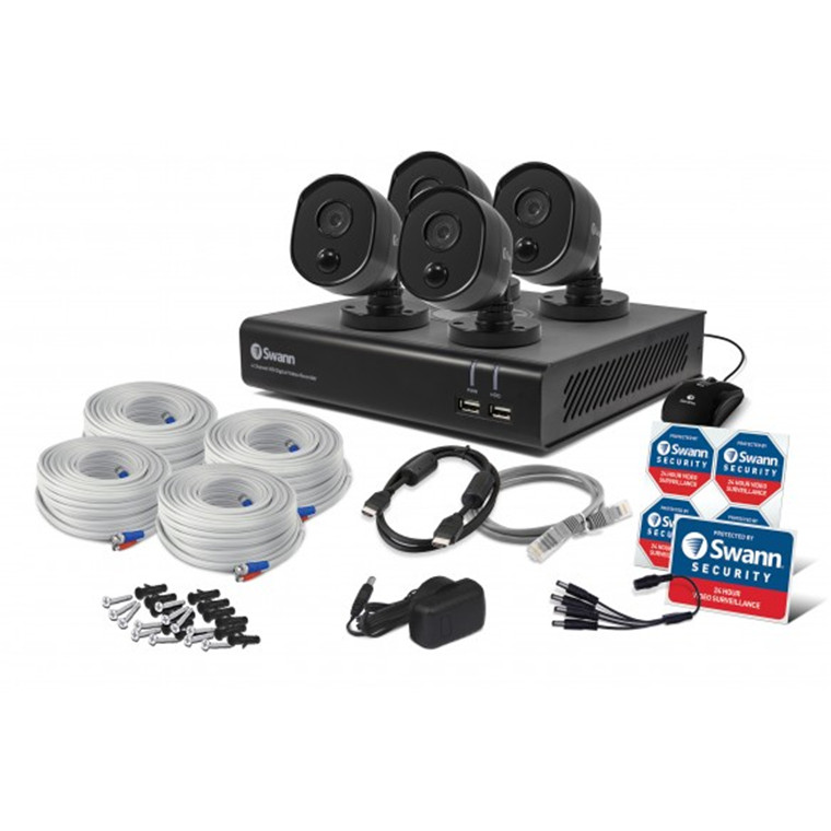 Buy the Swann 4 Channel Security System: 1080p Full HD DVR