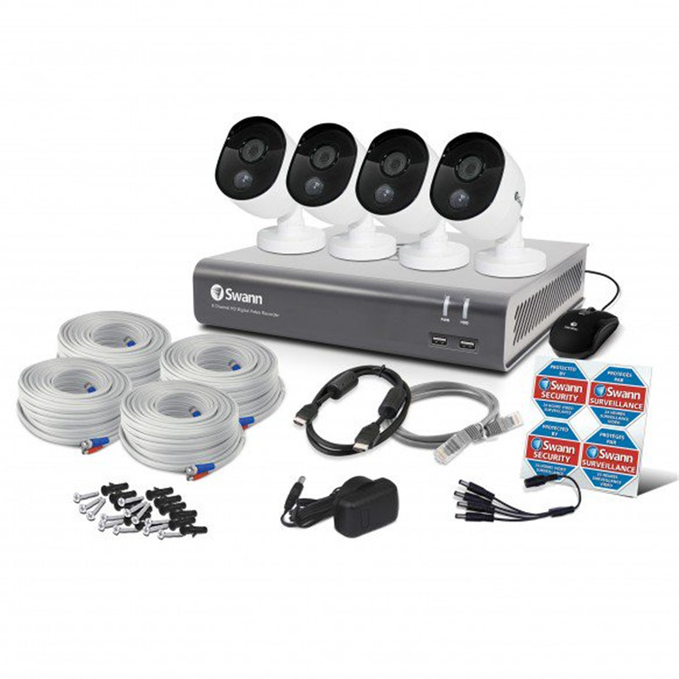Buy the Swann 8 Channel Security System: 2MP/1080p Full HD