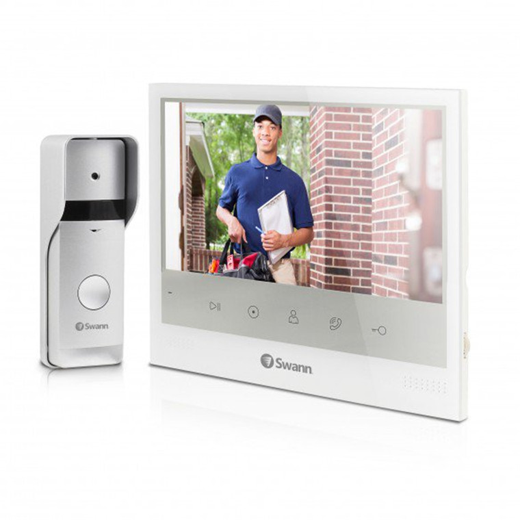Buy the Swann Expandable Intercom & Video Doorphone with 7