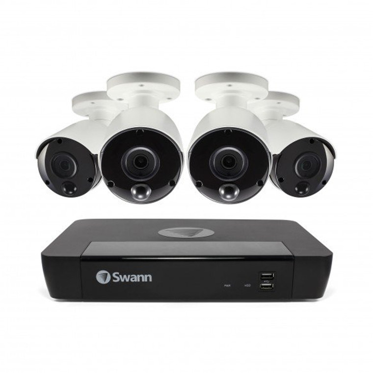 Buy the Swann 8 Channel Security System: 8MP/4K Ultra HD NVR-8580