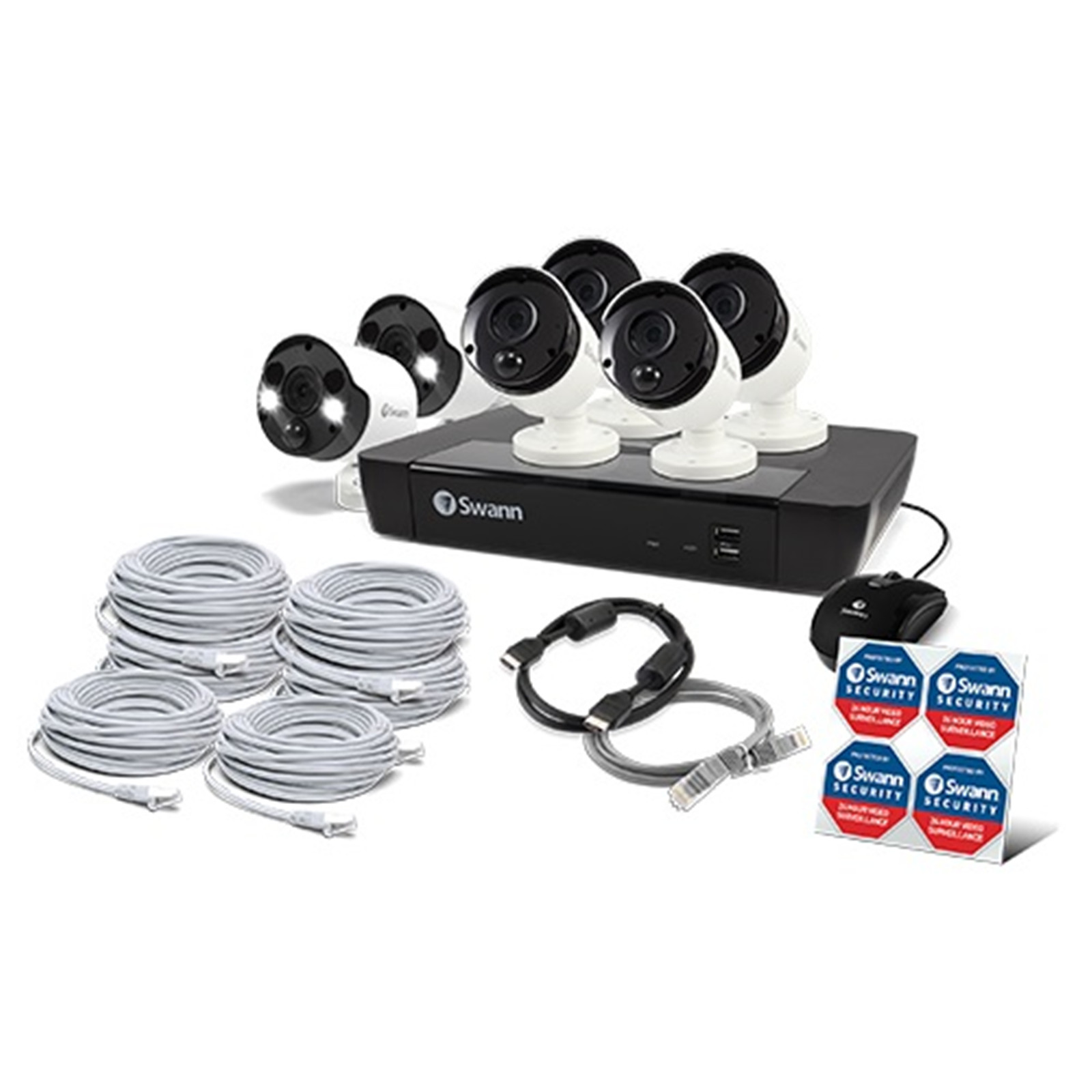 Buy the Swann 8 Channel Security System: 8MP/4K Ultra HD NVR