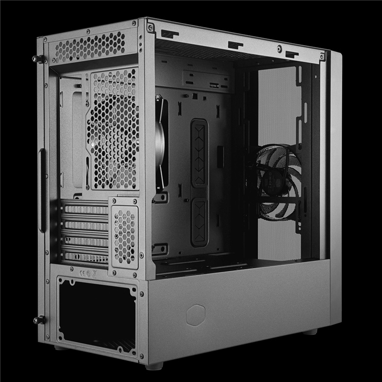 Buy The Cooler Master Masterbox Nr400 Minitower For Mini Itx