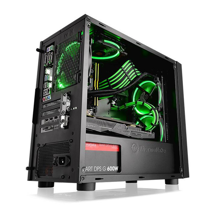 Buy the Thermaltake Versa H18 mATX Tower Chassis with window