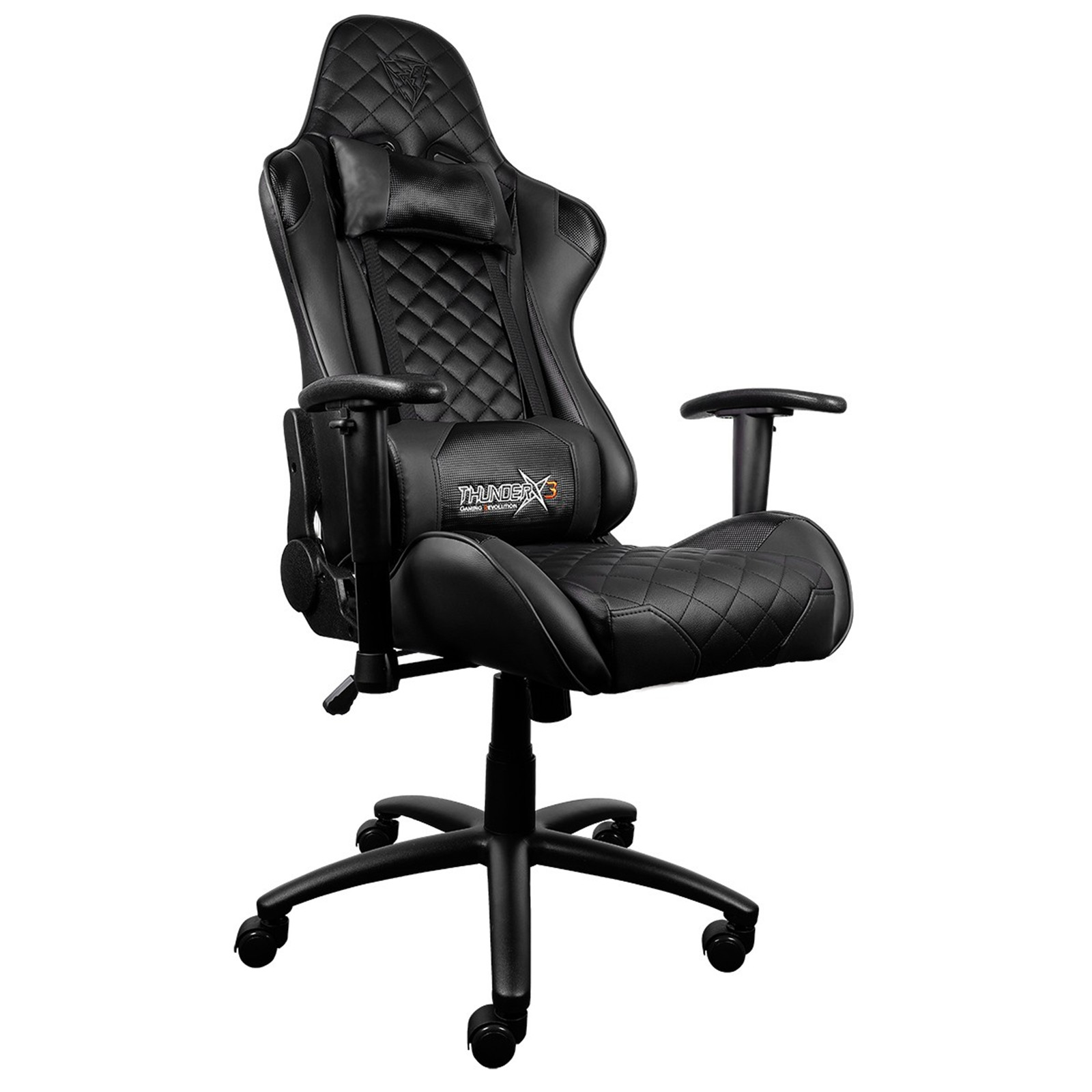 Surprising Buy The Thunderx3 Tgc12 Gaming Chair Black Tegc Lamtechconsult Wood Chair Design Ideas Lamtechconsultcom