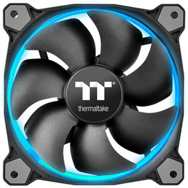 Buy the Thermaltake Riing 12 RGB Sync Edition 3 Pack Pack//Fan/12025