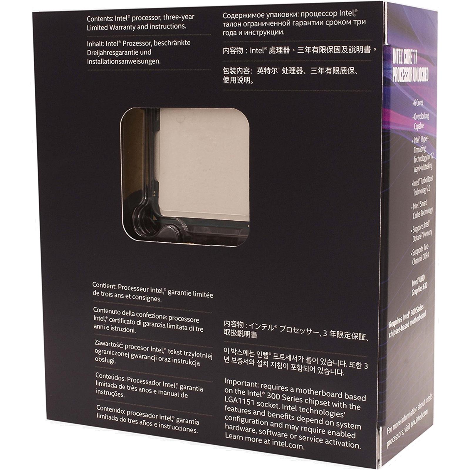 Buy the Intel Coffee Lake Core i7 8700K 6 Core 3 7Ghz 12MB
