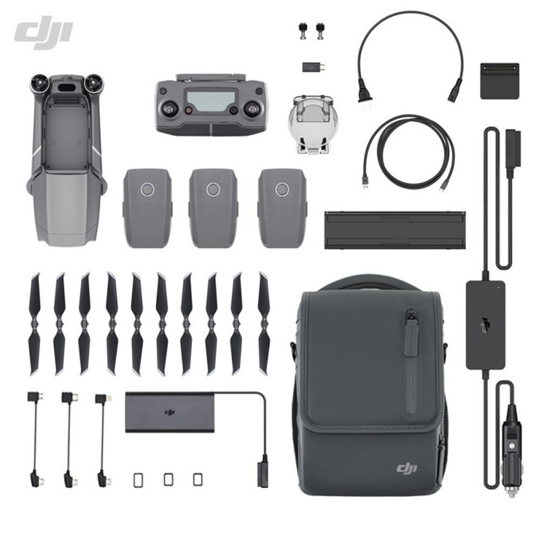 Buy the DJI Mavic 2 Zoom Drone Fly More Combo, with 2 x Optical Zoom