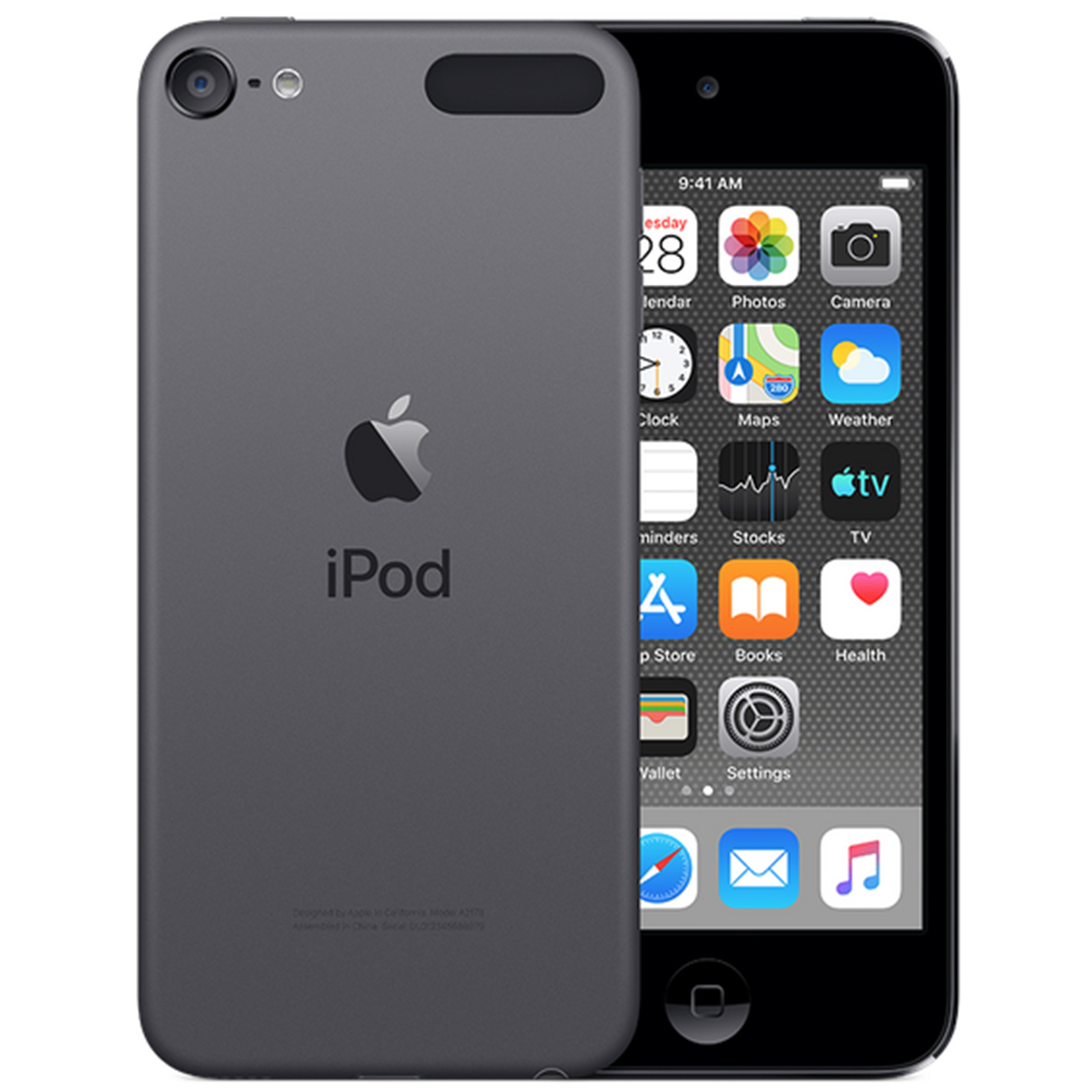 ipod touch 7th apple space grey 32gb gen pbtech nz