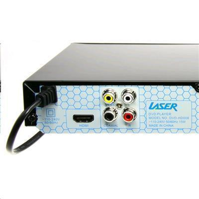 Buy the Laser DVD-HD008 DVD Player with HDMI, Composite & USB  Multi  region    ( DVD-HD008 ) online