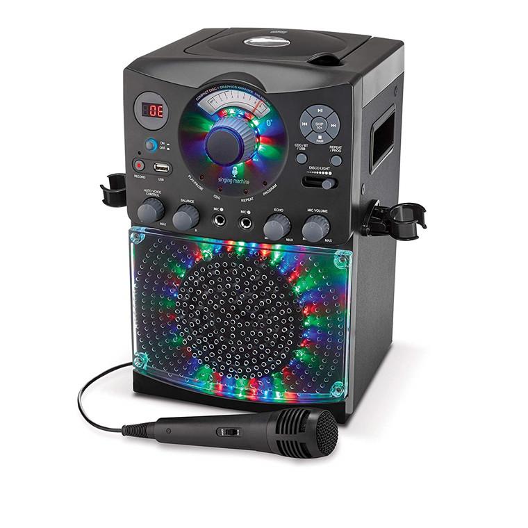 Buy the Singing Machine SML385BT 54 LED Disco Lights karaoke