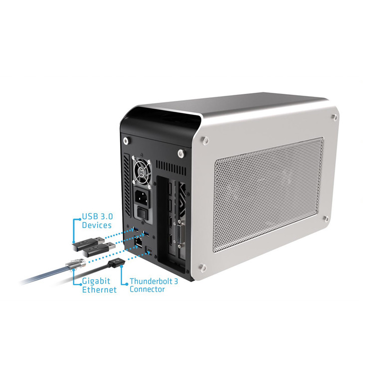Buy the Sapphire GearBox Thunderbolt 3 External Graphics