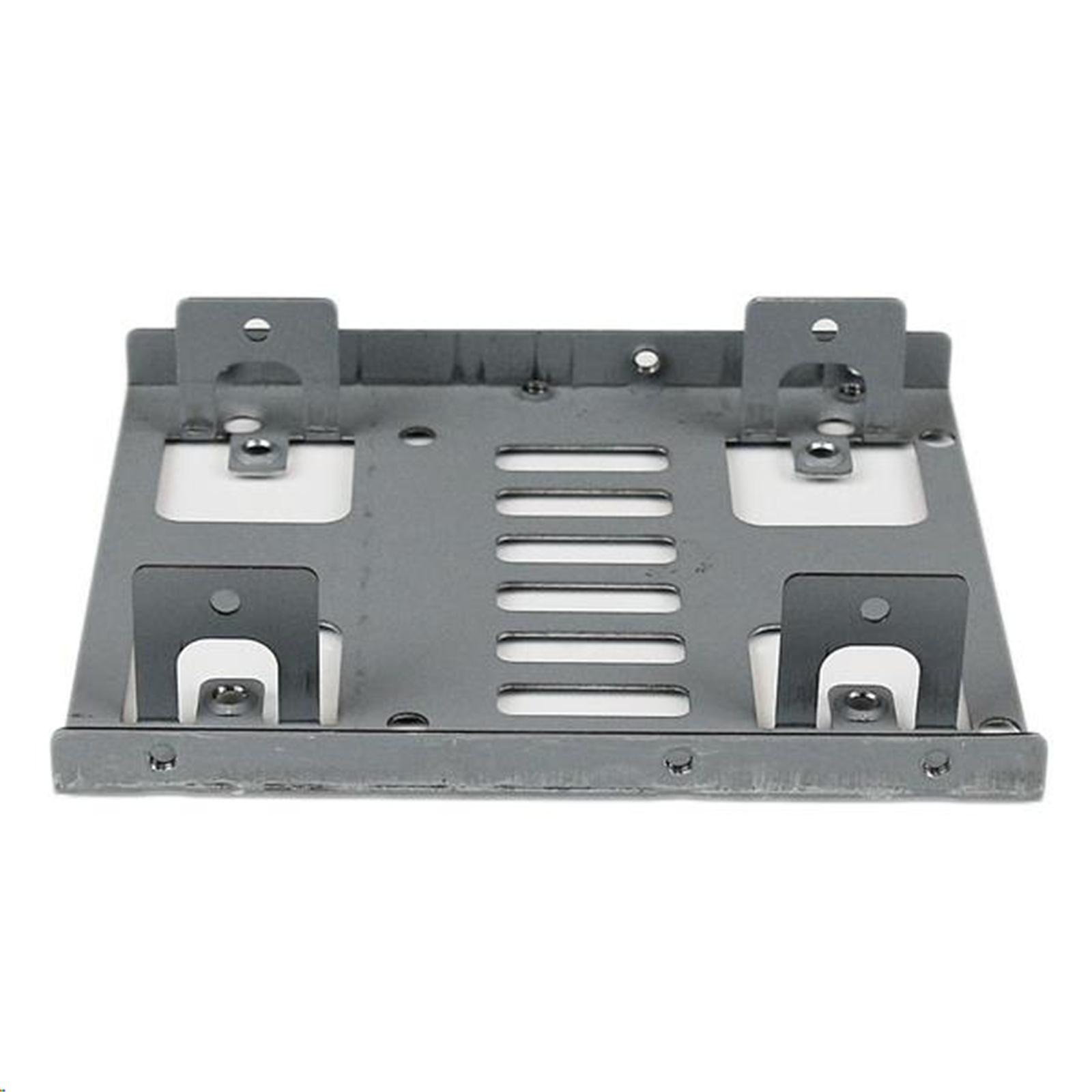 Buy The Startech Bracket25x2 Dual 25 Sata Hdd To 35 Mount Bracket Ssd Black Metal Inch