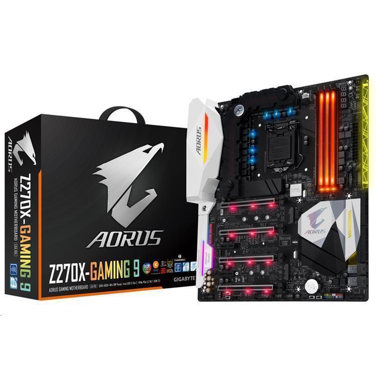 Buy the Gigabyte Remanufactured Aorus GA-Z270X-Gaming 9 ATX 4x DDR4