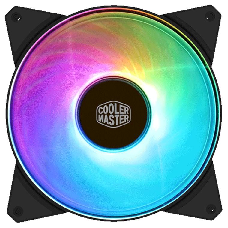 Buy the Cooler Master MasterFan Addressable PWM RGB FAN 140mm Certified     ( R4-140R-15PC-R1 ) online