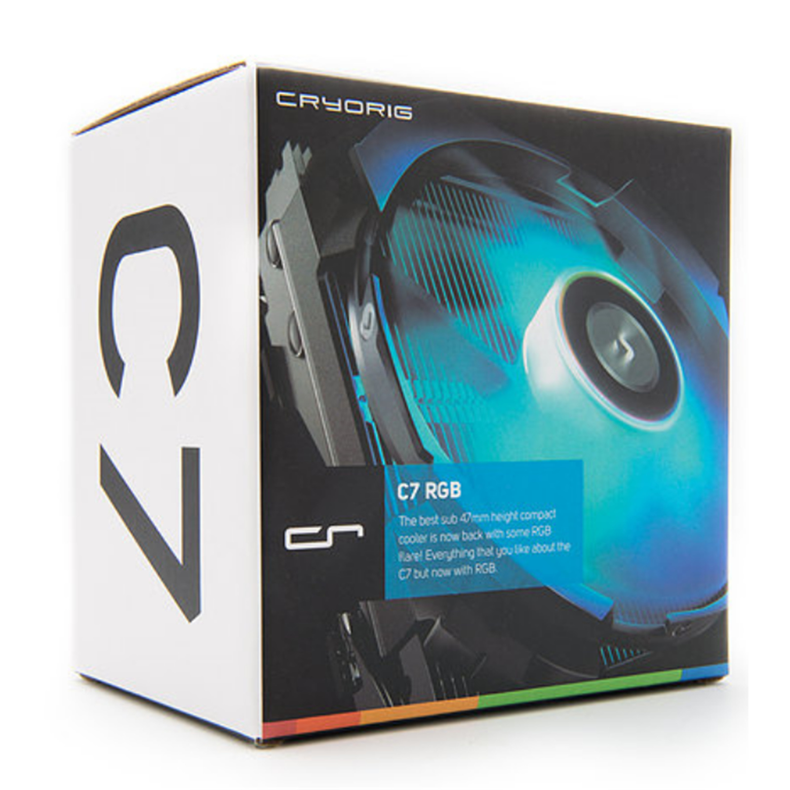 Buy the CRYORIG C7 RGB Top Flow Low Profile CPU Cooler ,92mm