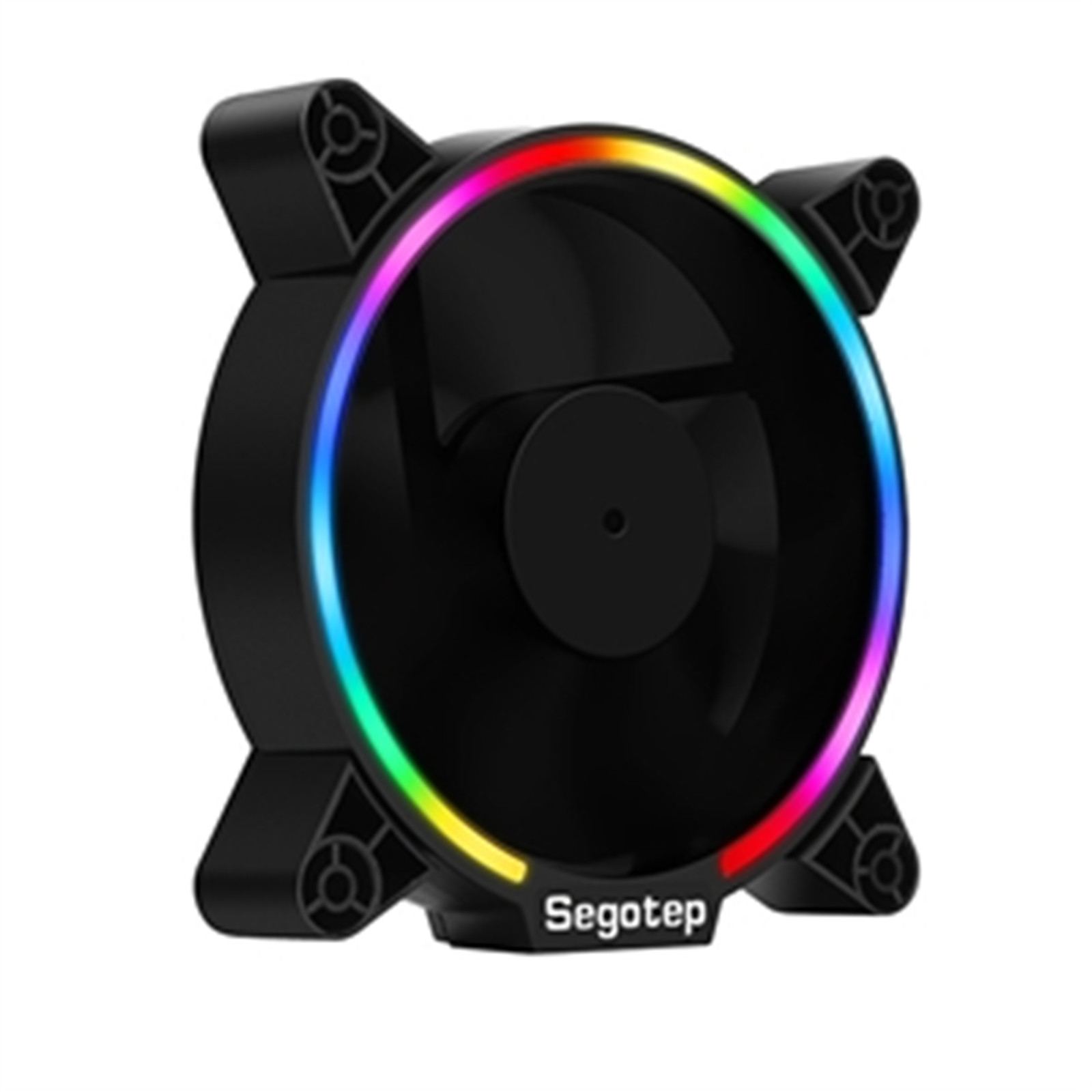 Buy the Segotep Pro Vibrant S 120 120MM RGB Fan support ASUS AURA SYNC /  MSI    ( Pro Vibrant S 120 ) online