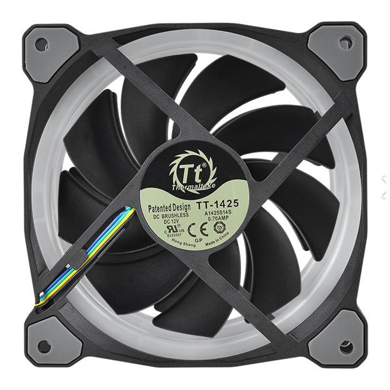 Buy the Thermaltake Riing Plus 14 LED RGB Radiator Fan TT