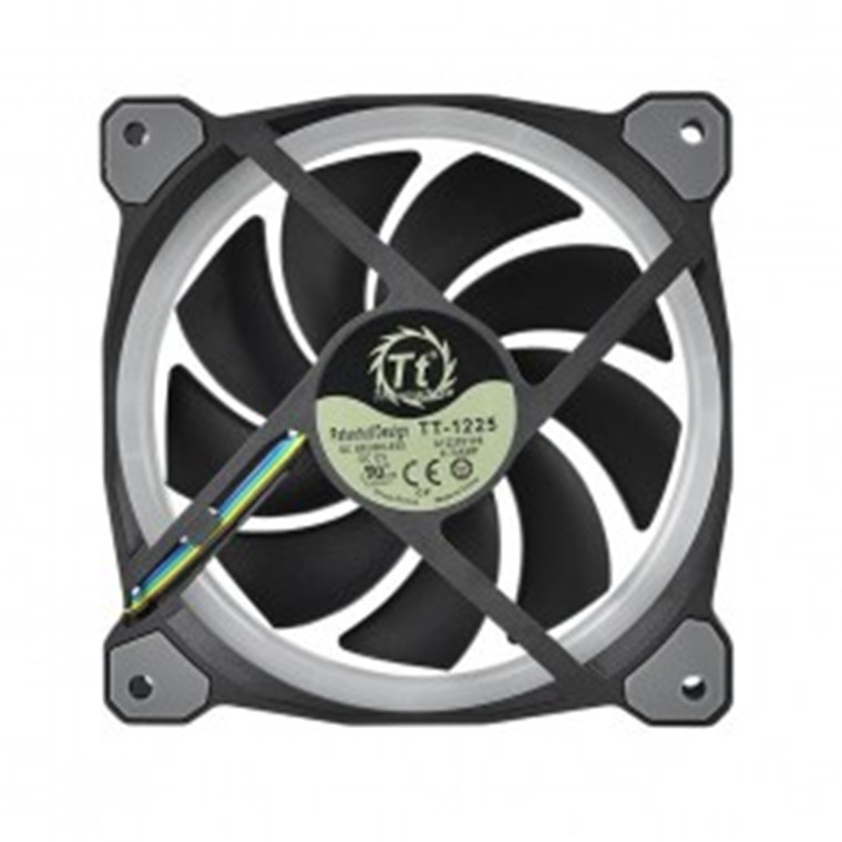 Buy the Thermaltake Riing Plus 120mm RGB Radiator Fan TT Premium Edition  (3    ( CL-F053-PL12SW-A ) online