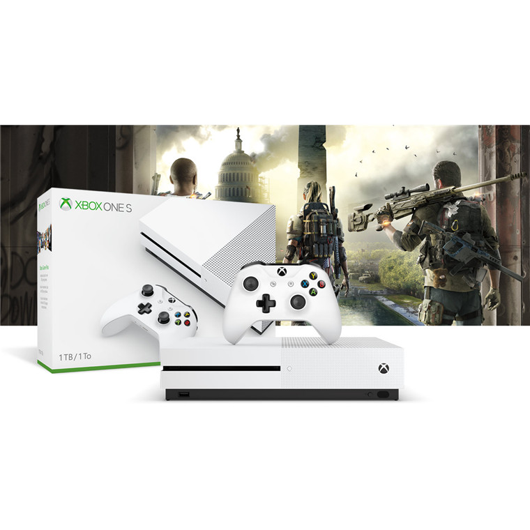 Buy the Microsoft XBOX ONE S 1TB Console - Tom Clancy The